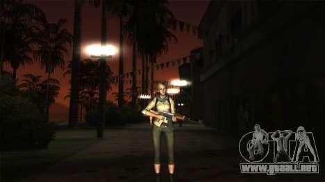 Resident Evil 6 - Shery Asia Outfit para GTA San Andreas tercera pantalla