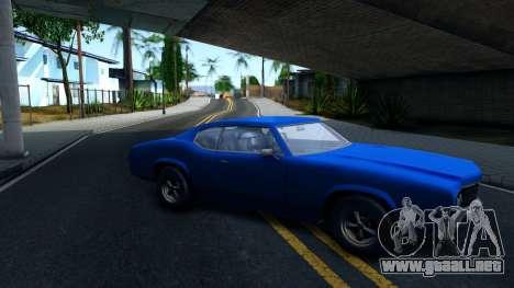 VC Xbox Sabre para GTA San Andreas left