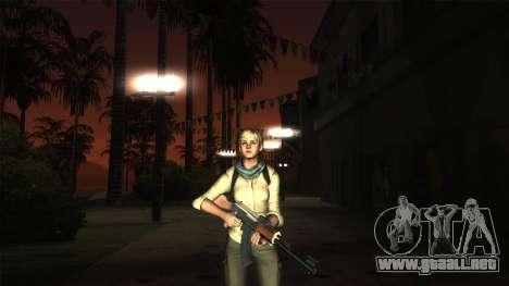 Resident Evil 6 - Shery Asia Outfit para GTA San Andreas sucesivamente de pantalla