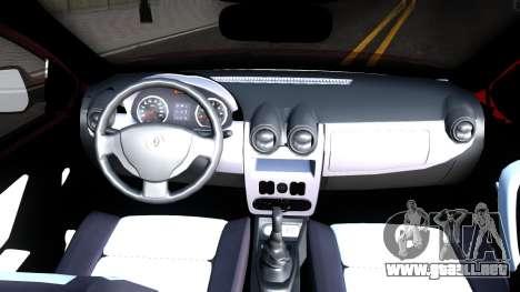 Renault Symbol 2013 para visión interna GTA San Andreas