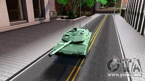 Leopard 2A7 para GTA San Andreas left