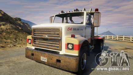 Teller-Morrow Towtruck from SOA para GTA 5