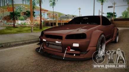 Nissan Skyline GT-R R34 Rocket Bunny para GTA San Andreas
