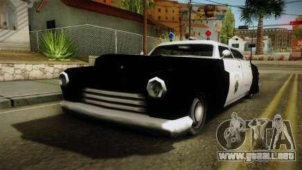 Hermes Classic Police San-Fierro para GTA San Andreas