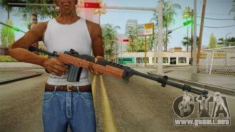 Ruger Mini-14 para GTA San Andreas