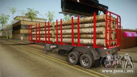 Double Trailer Timber Brasil v2 para GTA San Andreas left