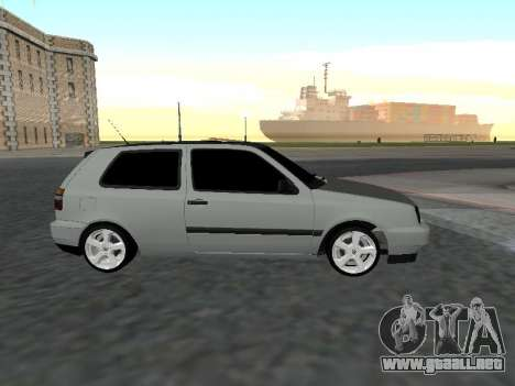 Volkswagen Golf 3 Armenian para GTA San Andreas left