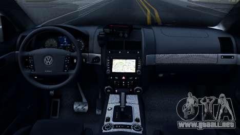 Volkswagen Touareg La Policía De Ucrania para visión interna GTA San Andreas