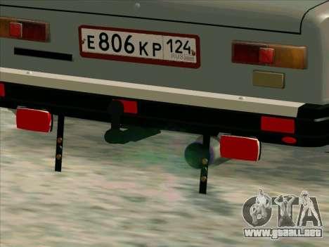 VAZ 21013 para vista lateral GTA San Andreas