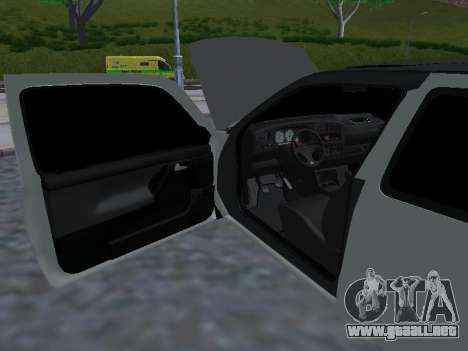 Volkswagen Golf 3 Armenian para vista inferior GTA San Andreas