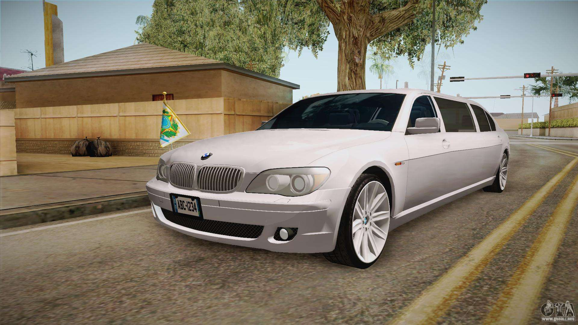 bmw e66 7 series limousine para gta san andreas. Black Bedroom Furniture Sets. Home Design Ideas