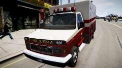 Vapid Steed Ambulance para GTA 4