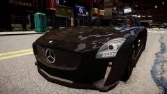 Mercedes Benz SLS Threep Edition