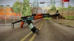 AK47 SU Wingshould para GTA San Andreas