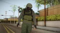 GTA Online Military Skin Green-Verde