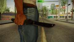 Support Knife para GTA San Andreas