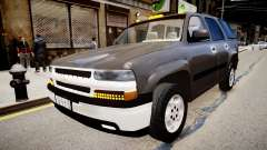 Chevrolet Tahoe Stock 2002 para GTA 4