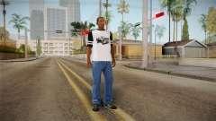 T-Shirt De Los Santos De Aduanas para GTA San Andreas