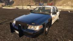 Ford Crown Victoria P71- LA Co. Sheriff 1999 para GTA 5