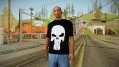 Cráneo de t-shirt para GTA San Andreas