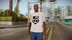 Camiseta blanca con la marca W. C. Choppers para GTA San Andreas