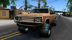 Military Off-road Rancher para GTA San Andreas