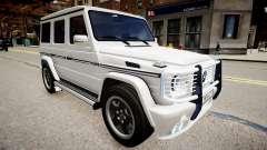 Mercedes-Benz G55 AMG v2 para GTA 4