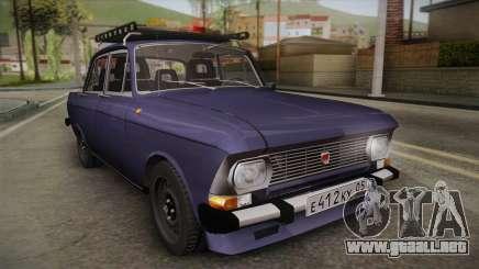 Moskvich-412 v2.0 para GTA San Andreas