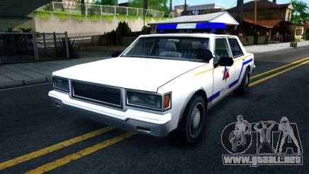 Vapid Stanier Hometown Police Department 1999 para GTA San Andreas