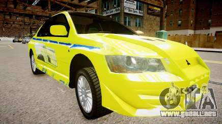 Mitsubishi Evo IX Fast and Furious 2 V1.0 para GTA 4