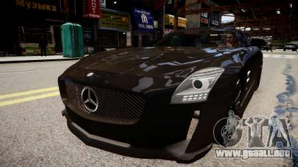 Mercedes Benz SLS Threep Edition para GTA 4