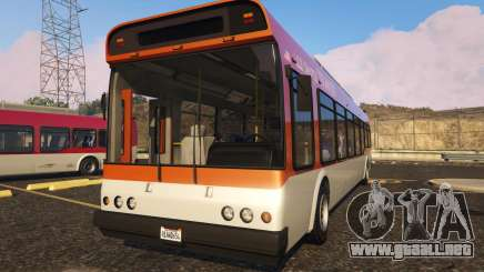 Portugal, Madeira Bus H.Funchal Low Entry Skin para GTA 5