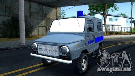 LuAZ 969М de la Policía para GTA San Andreas