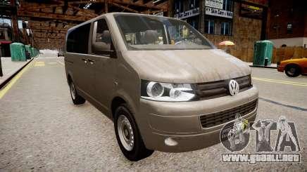 Volkswagen T5 Facelift para GTA 4