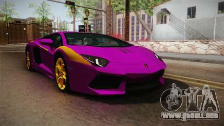 Lamborghini Aventador The Joker para GTA San Andreas