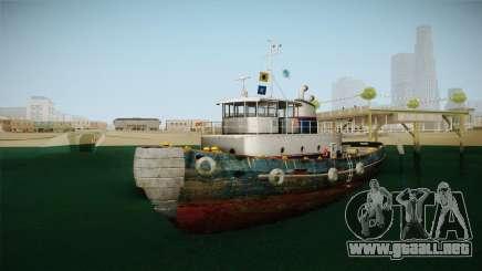GTA 5 Buckingham Tug Boat para GTA San Andreas