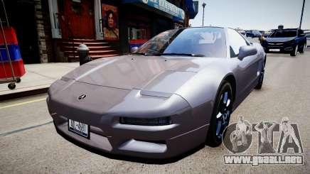 Acura NSX 1997 Retexture para GTA 4