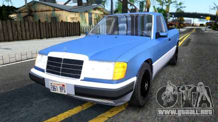 Mercedes-Benz W124 Pickup para GTA San Andreas