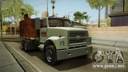 GTA 5 Vapid Scrap Truck Cleaner v2 IVF para GTA San Andreas