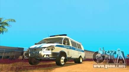 Gacela PPSP para GTA San Andreas