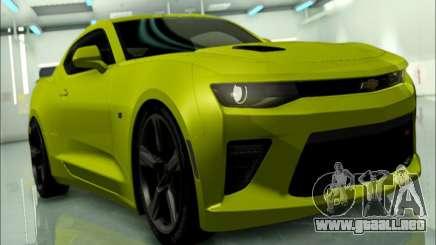 2017 Chevrolet Camaro SS GTA SA para GTA San Andreas