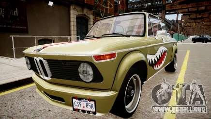 BMW 2002 Turbo 1973 para GTA 4