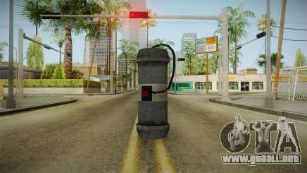 GTA 5 DLC Bikers Weapon 3 para GTA San Andreas