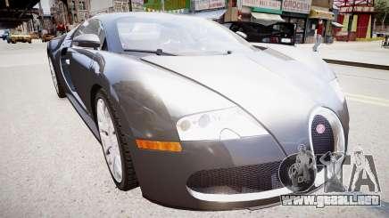 Bugatti Veyron 16.4 v1.7 para GTA 4