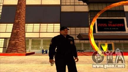 Miembro de la app en el verano de uniformes de la muestra nueva para GTA San Andreas