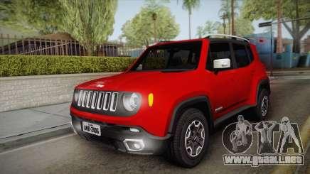 Jeep Renegade 2017 para GTA San Andreas