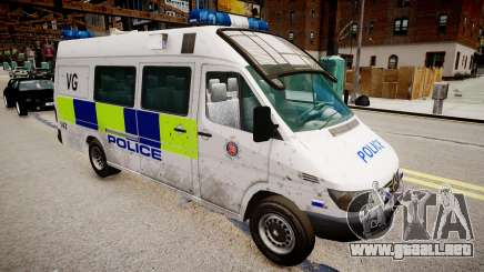 Mercedes-Benz Sprinter Police para GTA 4