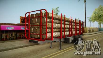 Double Trailer Timber Brasil v2 para GTA San Andreas