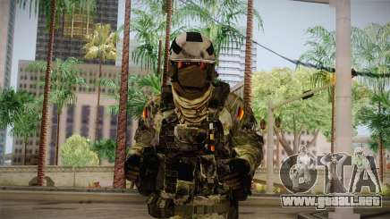 Multitarn Camo Soldier v3 para GTA San Andreas