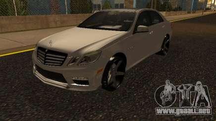 Mercedes-Benz E63 Armenian para GTA San Andreas